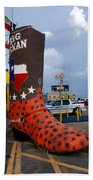 The Big Boot Beach Towel