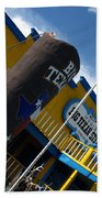 The Big Texan II Beach Towel