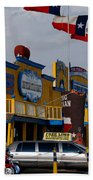 The Big Texan In Amarillo Beach Towel