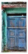 The Blue Door - India Beach Towel
