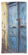The Blue Doors Nubian Village Beach Towel