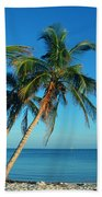 The Blue Lagoon Beach Towel by Susanne Van Hulst