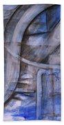The Blue Machine Beach Towel