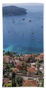 The Blue Waters Of Nice, France Beach Towel