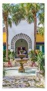 The Bonnet House - Interior Garden Beach Towel