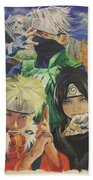Kakashi's Rivals Wip Beach Towel by Baroquen Krafts