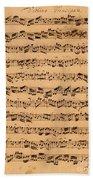 The Brandenburger Concertos Beach Towel