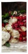 The Bride's Bouquet Beach Towel