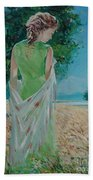 The Bright Day Beach Towel