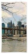 The Brooklyn Bridge  Beach Sheet