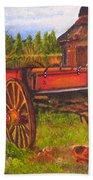 The Buggy, 11x14, Oil, '07 Beach Towel