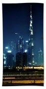 The Burj Khalifa  Beach Towel