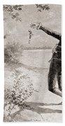 The Burr Hamilton Duel Beach Towel