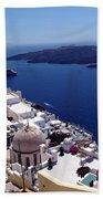 The Caldera, Santorini Beach Towel