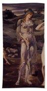 The Calling Of Perseus 1898 Beach Towel