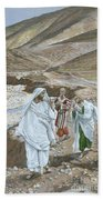 The Calling Of St. Andrew And St. John Beach Towel by Tissot