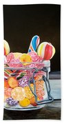 The Candy Jar Beach Towel