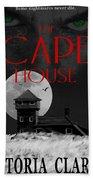 The Cape House Book Cover Beach Towel