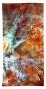 The Carina Nebula Panel Number Two Out Of A Huge Three Panel Set Beach Towel
