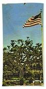 The Casements Flag Flying Beach Towel