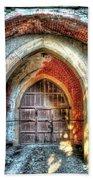 The Castle Door - La Porta Del Castello Beach Sheet