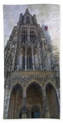 The Cathedral At Ulm Beach Towel