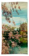 The Cathedral Basilica Of The Sacred Heart Beach Towel