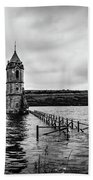The Cathedral Of Fish Bw Beach Towel