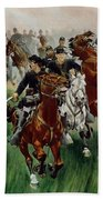 The Cavalry Beach Towel by WT Trego
