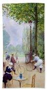 The Chalet Du Cycle In The Bois De Boulogne Beach Towel