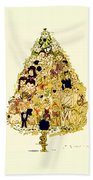 The Children Tree Beach Towel