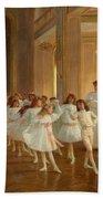 The Children's Dance Recital At The Casino De Dieppe Beach Towel