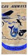 The China Clipper Beach Towel
