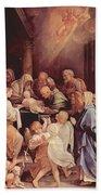 The Circumcision Of The Child Jesus 1640 Beach Towel
