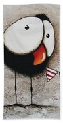 The Circus Crow Four Beach Towel