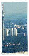 The City Of Vienna Austria Beach Towel