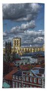 The Clifford Tower View Beach Towel