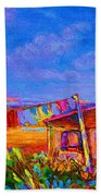 The Clothesline Beach Towel