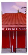 The Cockle Shop Beach Towel