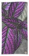 The Color Purple Beach Towel