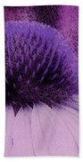 The Color Purple Beach Towel