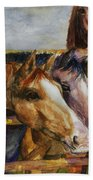The Colorado Horse Rescue Beach Towel