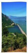 The Columbia Gorge National Scenic Area Beach Towel