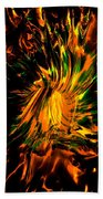 The Coming Of Thunder Beach Towel