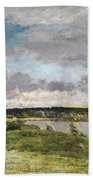 The Coming Storm, Early Spring Beach Towel