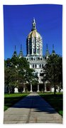 The Connecticut State Capitol Beach Towel