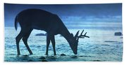 The Cool Of The Night - Square Beach Towel