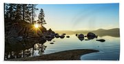 The Cove At Sand Harbor Beach Towel
