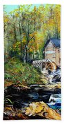 Glade Creek Beach Towel