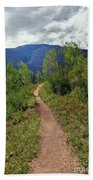 The Crooked Path Beach Towel